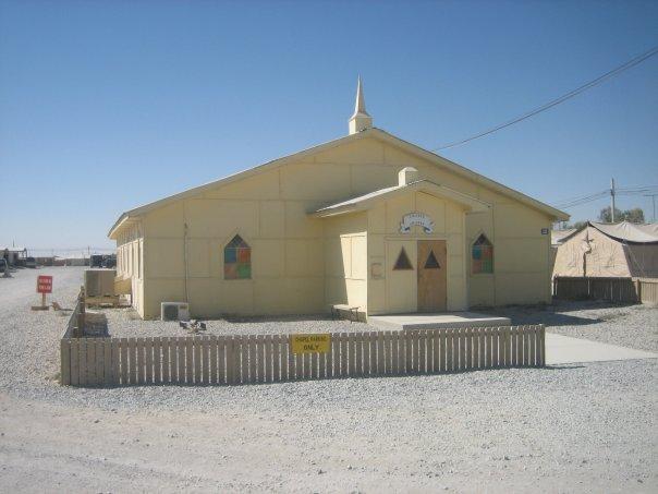 Fraise Chapel-Afghanistan-Kandahar