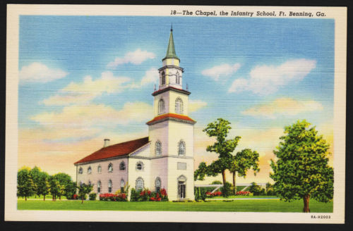 Chapel-Fort Benning-Infantry School