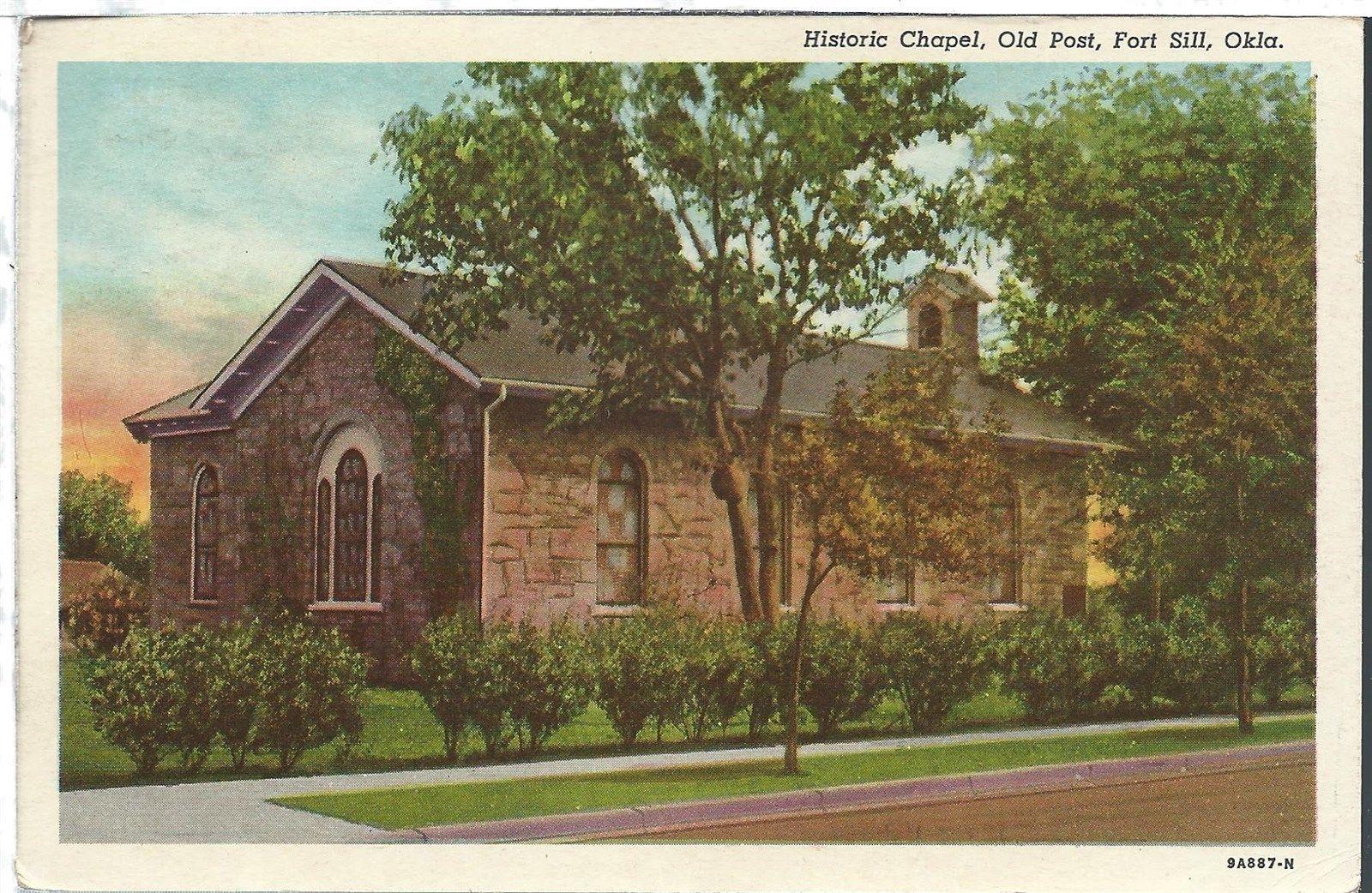 Chapel-Ft-Sill-Old Post Chapel-1942