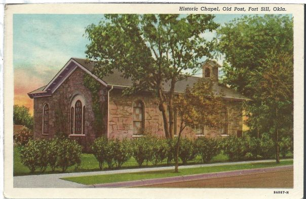 Chapel-Ft-Sill-Old Post Chapel-1942