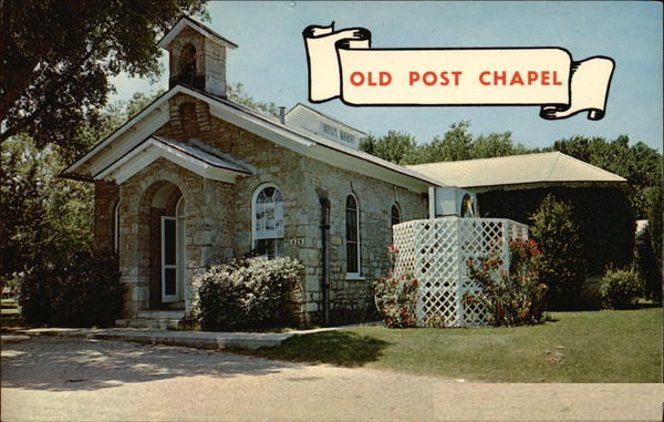 Old Post Chapel Fort Sill