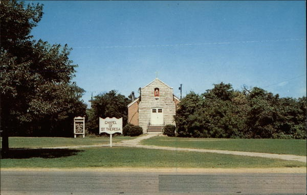The Chapel of St. Theresa, located on the base Fort Story, VA