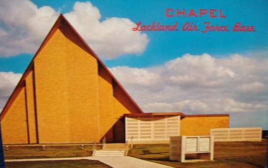 Lackland AF Base Chapel