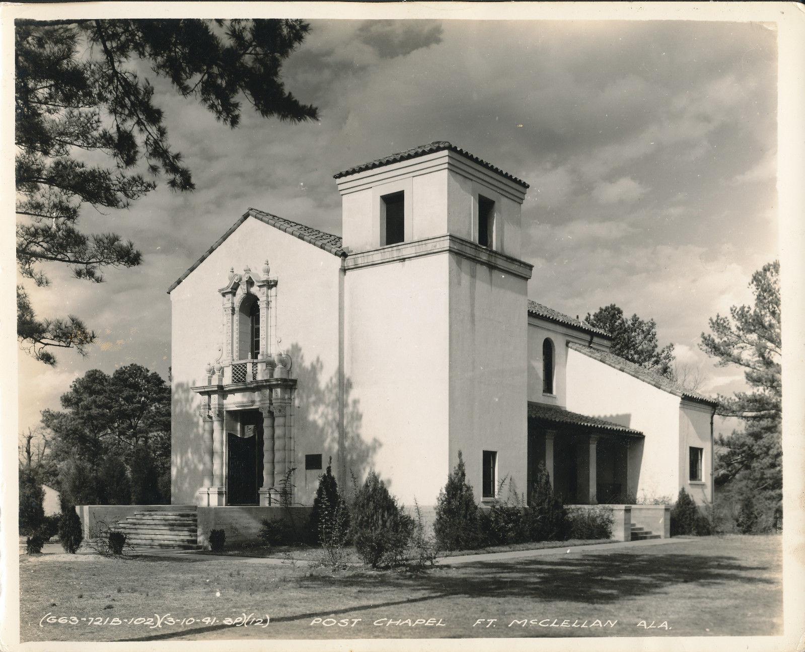 Post Chapel Fort McClellan