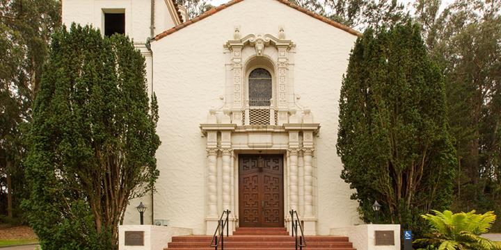 Chapel-The Presidio-exterior