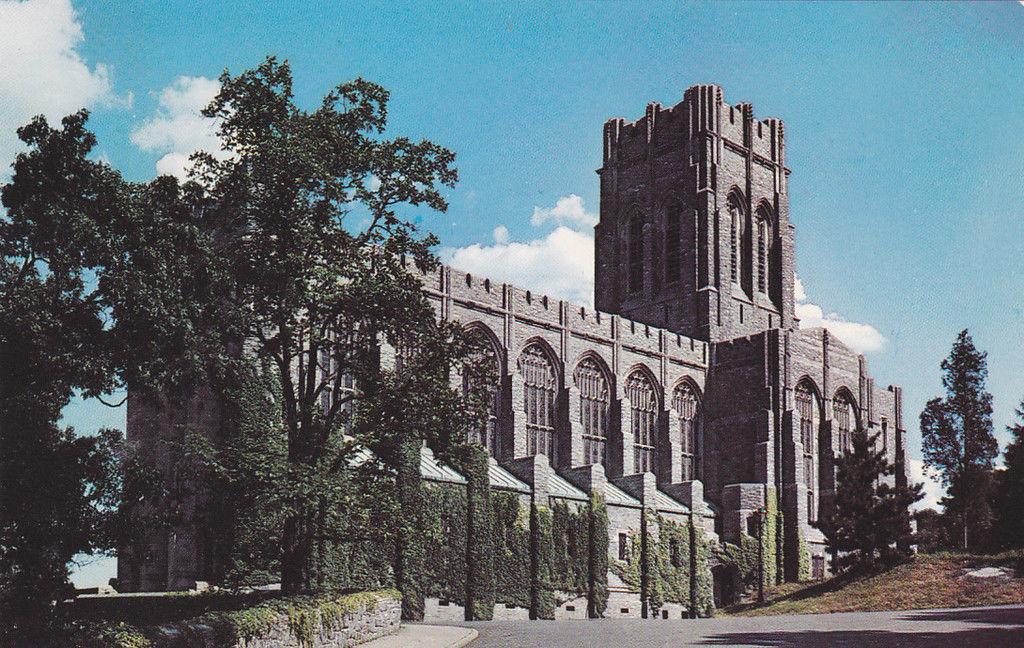 Chapel-US Military Academy-West Point, NY-Cadet Chapel 1960s