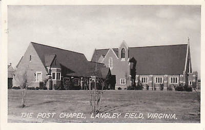 Post Chapel, Langley Field, Virginia