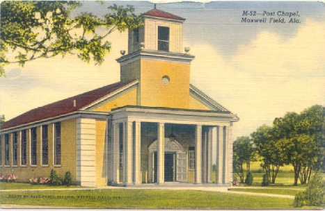 Post Chapel, Maxwell Field, Alabama