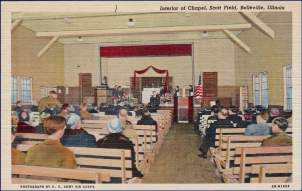 Chapel Interior, Scott Field, Belleville, Illinois