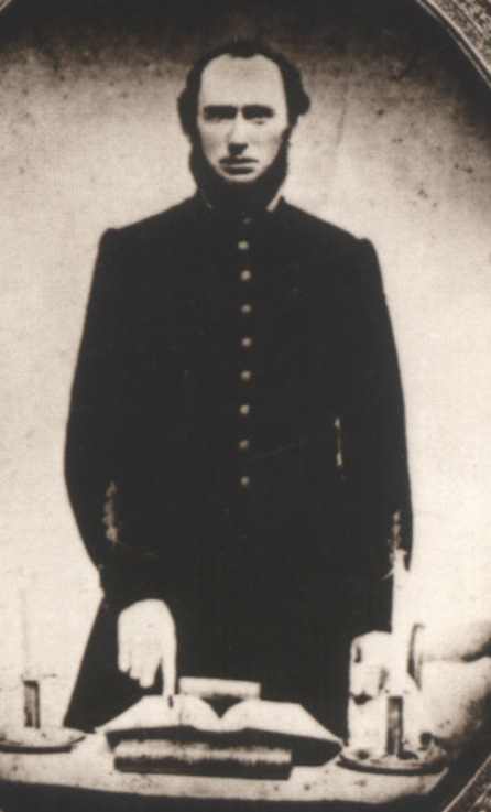 Chaplain Nicholas Davis of the 4th Texas Infantry Hood's Brigade