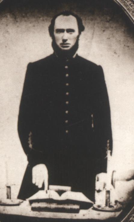 Chaplain Nicholas Davis of the 4th Texas Infantry Hood's Brigade