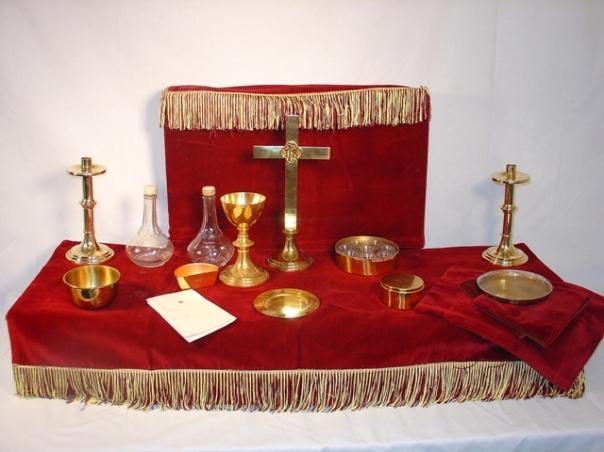 WW2 Chalice Chaplain Kit