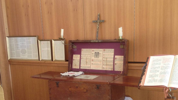 WW1 Gallipoli Field Altar