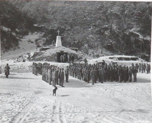 17th Ordnance Maintenance Company Chapel and bunker
