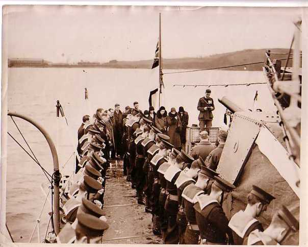 British ship Keppel 1930