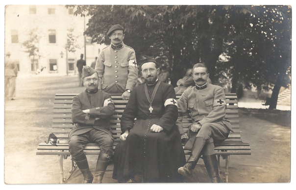 French Chaplains at Camp Mainz
