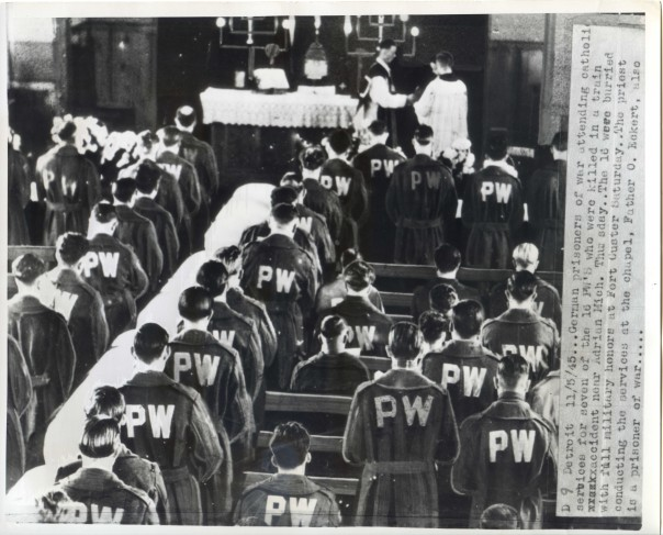 WW2 German POW Funeral Service