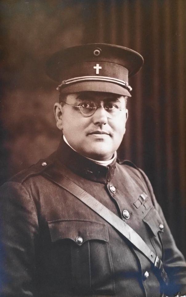 WW1 Belgian Chaplain