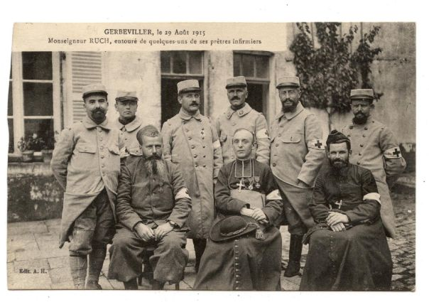 WW1 french front chaplains