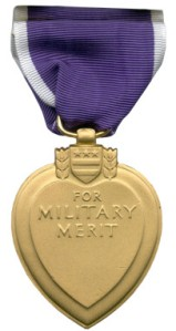 Purple Heart back