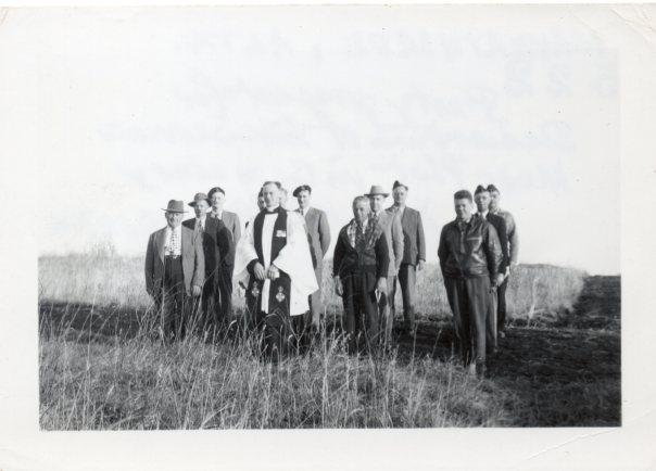 Canada-Chaplain-John Dicker-1951-1