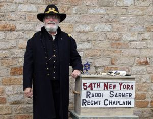 Rabbi David Wucher as Rabbi Ferdinand Sarner