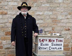 Rabbi David Wucher as Rabbi Ferdinand Sarner