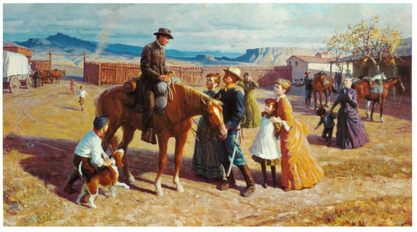 The Chaplain on the Western Frontier
