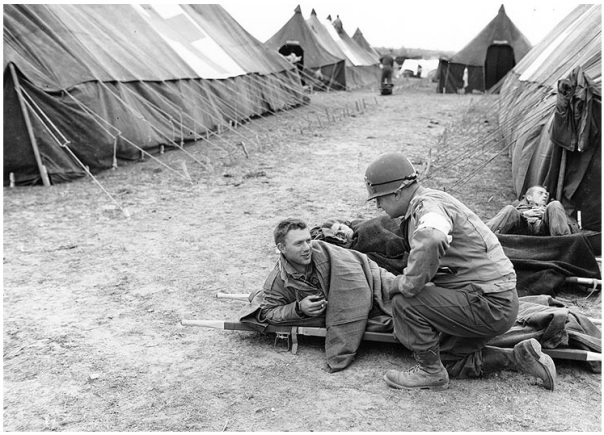 Chaplain-WW2-Normandy-Field-Hospital