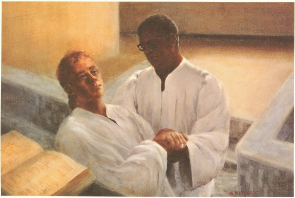 Chaplain Activities: Baptism by Immersion