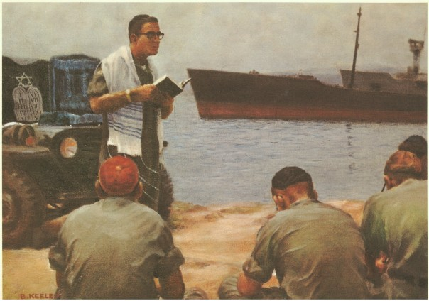 Chaplain Activities: Jewish Services in the Field