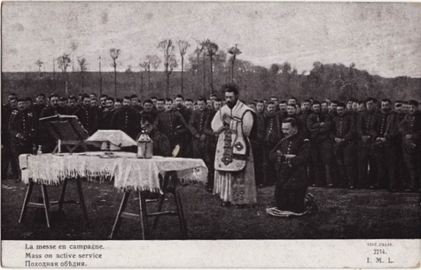 Imperial Russian Army Mass