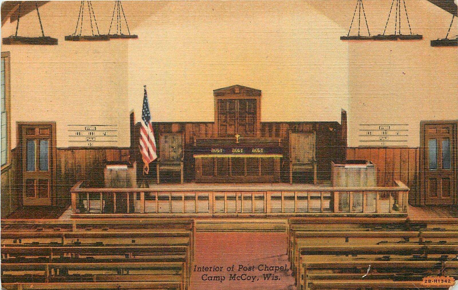 Camp McCoy Post Chapel