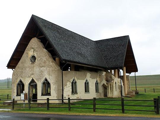 Chapel-Fort Randall-roof