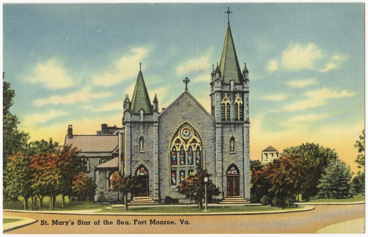 St. Mary's Star of the Sea, Fort Monroe