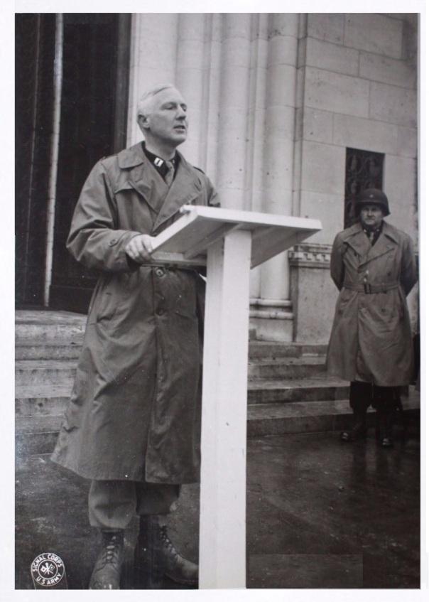 Chaplain MacDonald