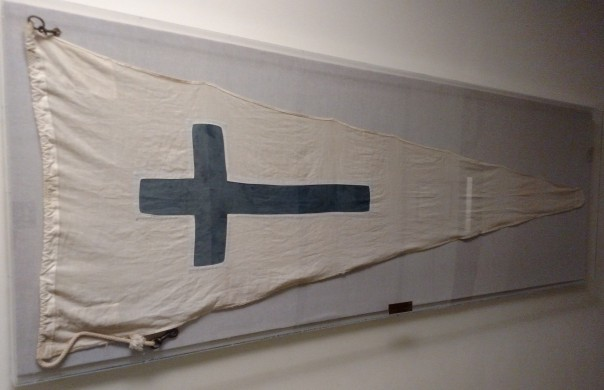 Naval Air Station Quonset Point Church Flag