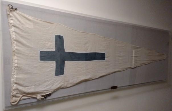 Naval Air Station Quonset Point Church Flag