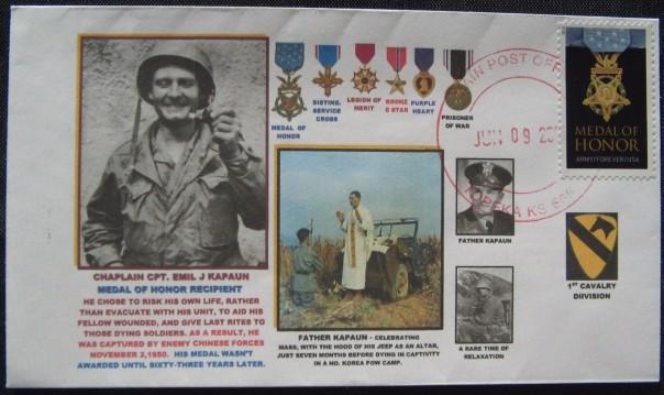 Postal Cover Emil Kapaun
