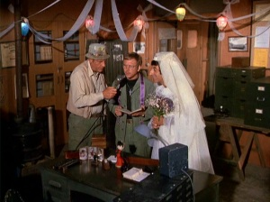 MASH Springtime wedding