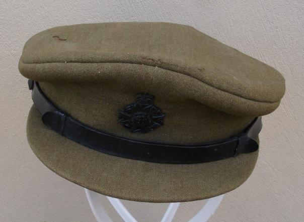 British Chaplain's visor hat - Korean War