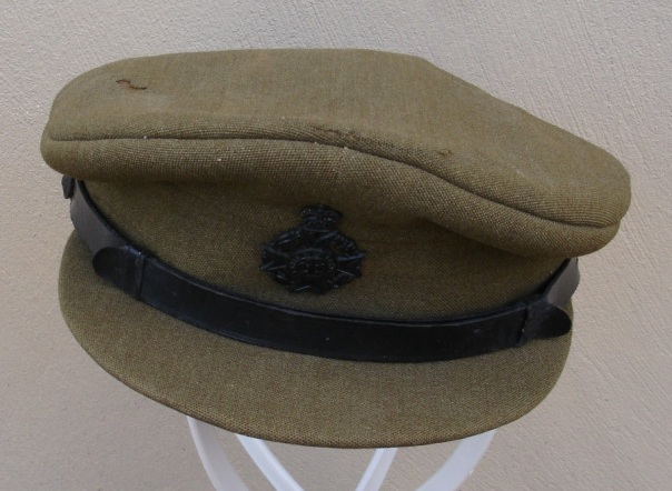 British Chaplain's visor hat - Korean War