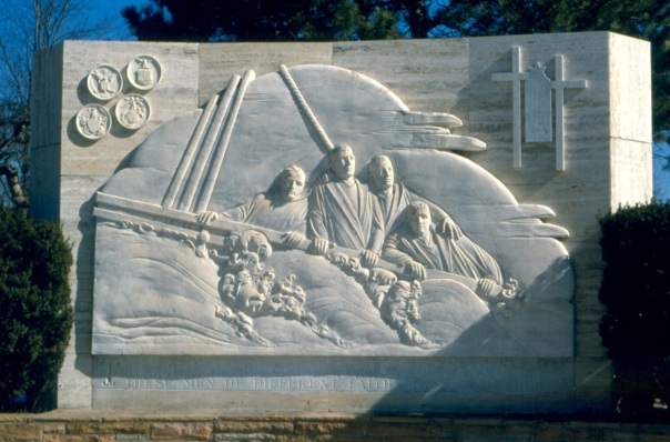 Four_Chaplains_monument,_Ann_Arbor,_Michigan
