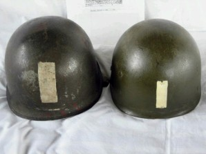 Fr._Robert_P._Galbraith_Chaplain_Helmet___Rear