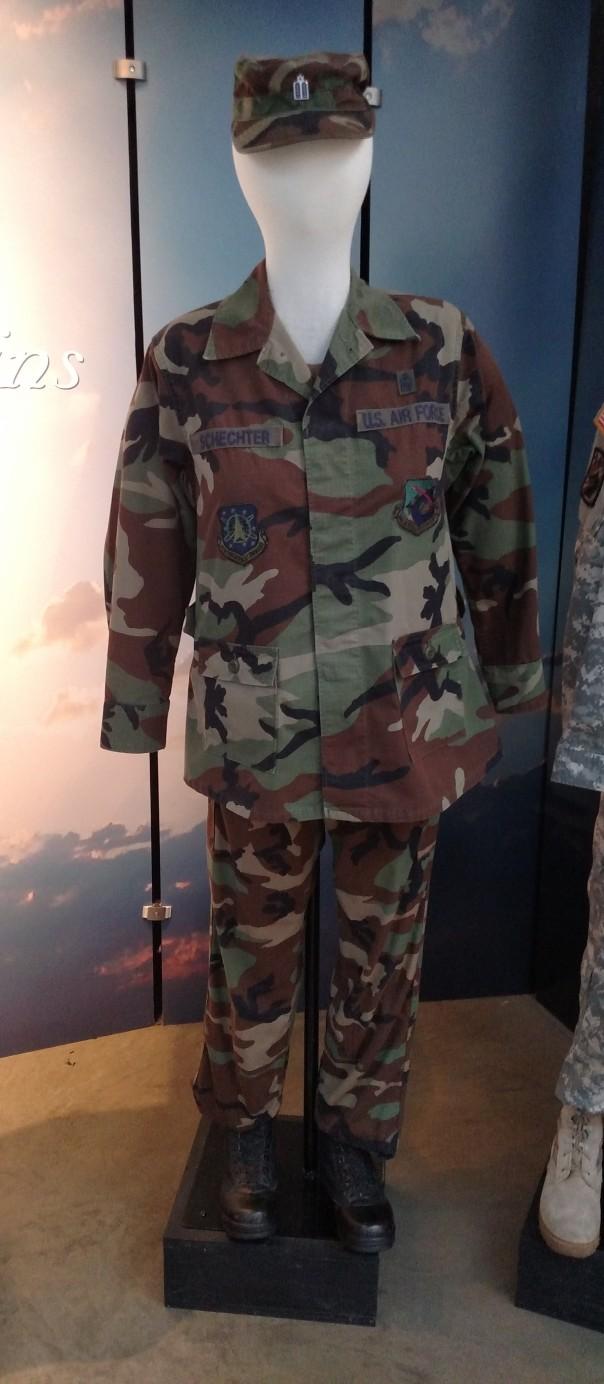 Chaplain Schechter uniform