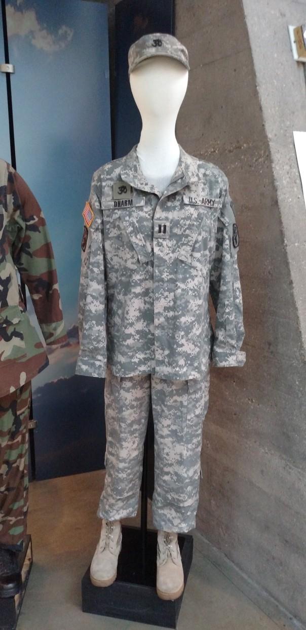 Chaplain Dharm uniform