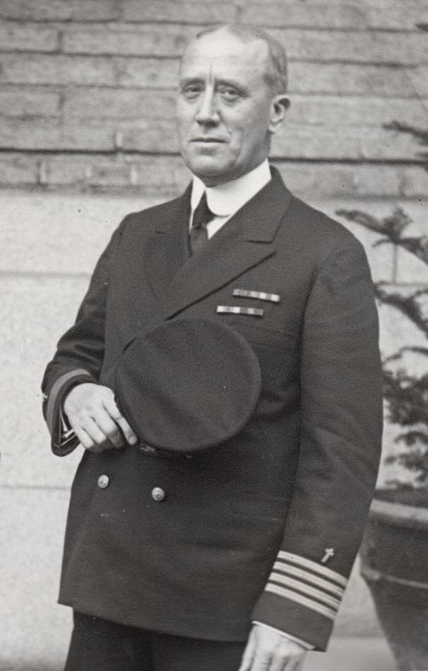 Chaplain John Fraier