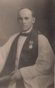 Chaplain Benjamin O'Rorke