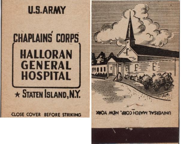 Halloran General Hospital Chaplains