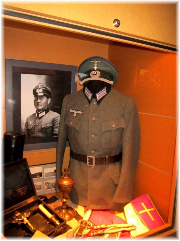 Baugnez War Museum Chaplain Display